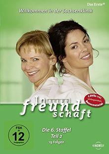In aller Freundschaft - Die 06. Staffel, Teil 2, 21 Folgen [5 DVDs]