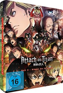 Attack on Titan - Anime Movie Teil 2: Flügel der Freiheit - Steelcase [Blu-ray] [Limited Edition]