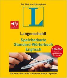 Langenscheidt Speicherkarte Standard-Wörterbuch Englisch