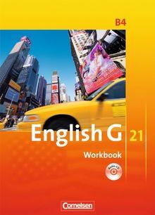 English G 21 - Ausgabe B: Band 4: 8. Schuljahr - Workbook mit CD
