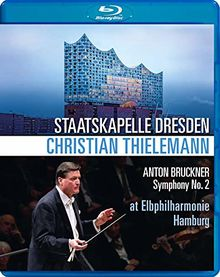 Bruckner: Sinfonie Nr. 2 (Christian Thielemann/Elbphilharmonie Hamburg, Feb. 2019) [Blu-Ray]