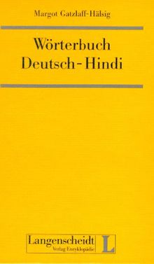Wörterbuch Deutsch-Hindi