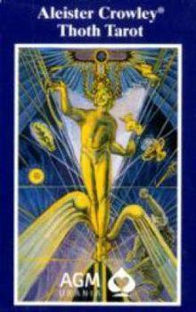 Tarotkarten, Original Aleister Crowley Thoth Tarot, Pocketausgabe: Mit Beiheft: Eine Beschreibung von Aleister Crowley, mit e. Vorw. v. Hymenaeus Beta, 50 S