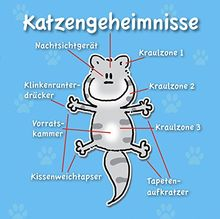 Katzengeheimnisse: Cartoon-Geschenkbuch