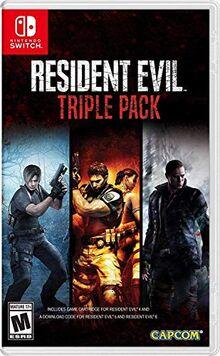 Resident Evil Triple Pack Nintendo Switch US Import