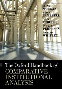 The Oxford Handbook of Comparative Institutional Analysis (Oxford Handbooks in Business and Management)