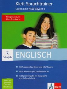 Klett Sprachtrainer Englisch 7. Schuljahr. Green Line New 3 Bayern. CD-ROM für Windows 98SE/ME/XP/NT/2000