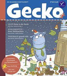 Gecko Kinderzeitschrift Band 68: Die Bilderbuchzeitschrift