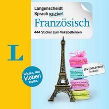 Langenscheidt SprachSticker Französisch - mit Fotos: 444 Sticker zum Vokabellernen