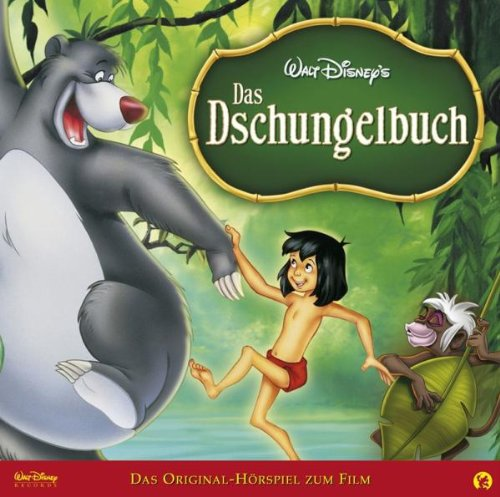 das dschungelbuch das original h rspiel zum film von walt disney. Black Bedroom Furniture Sets. Home Design Ideas