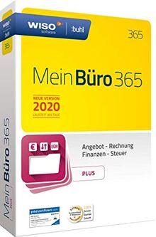 WISO MeinBüro 365 (2020) Plus   Bürosoftware, Rechnung schreiben, Umsatzsteuervoranmeldung, Buchhaltung u.v.m.
