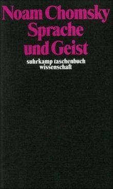 Sprache und Geist (suhrkamp taschenbuch wissenschaft)