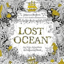 Lost Ocean: An Inky Adventure & Colouring Book von Johanna ...