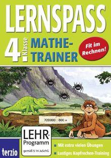 LERNSPASS - Mathe-Trainer 4. Klasse (PC+MAC)