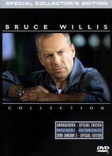 Bruce Willis Triple Action Pack (Stirb langsam 3, Armageddon, Unbreakable) [Box Set] [3 DVDs]
