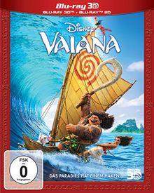Vaiana 3D+2D [3D Blu-ray]