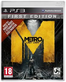 Metro: Last Light - First Edition - 100% uncut [PEGI]