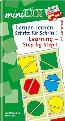 miniLÜK: Kindergarten / Vorschule / Learning - Step by Step 1