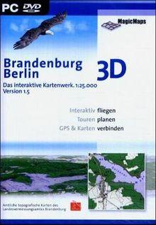 Brandenburg/Berlin 3D (DVD-ROM)