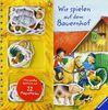 Wir spielen auf dem Bauernhof: Magnet-Spielbuch