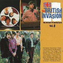 The British invasion - The history of British rock, Vol.8