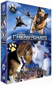 Comme chiens et chats 1 ; comme chiens et chats 2 : la revanche de kitty galore [FR Import]