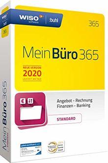 WISO Mein Büro 365 (2020) Standard | Bürosoftware, Rechnung schreiben, Buchhaltung u. v. m.