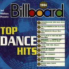 Billboard Top Dance Hits 1984