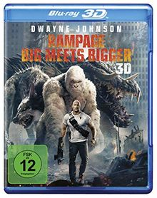 Rampage: Big Meets Bigger 3D [3D Blu-ray]