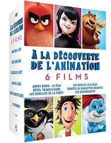 A la découverte de l'animation 6 films