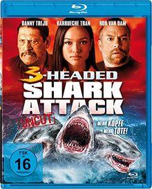 3-Headed Shark Attack - Mehr Köpfe = mehr Tote! - Uncut [Blu-ray]