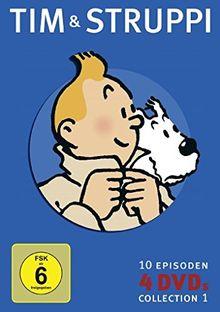 Tim und Struppi, Collection 1 [4 DVDs]