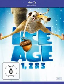 Ice Age - Box Set Teil 1, 2 & 3 [Blu-ray]