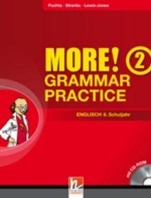 MORE! Grammar Practice 2, Englisch 6. Schuljahr, mit 1 CD-ROM