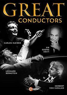 Great Conductors (Kleiber, Solti, Bernstein, Karajan) [4 DVDs]
