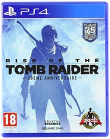 Rise Of The Tomb Raider 20 Year Celebration Jeu PS4