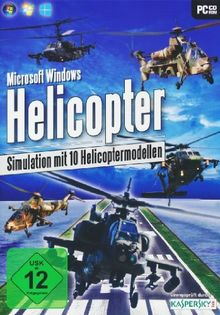 Helicopter Simulation mit 10 Helicoptermodellen (PC-DVD)