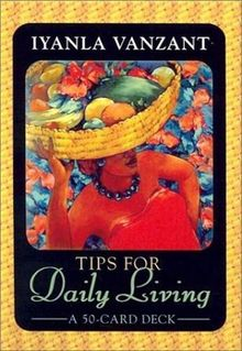 Tips for Daily Living Cards (Large Card Decks)
