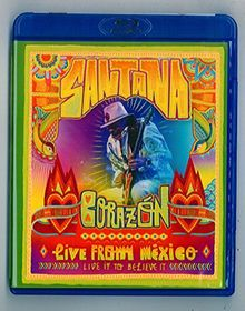Santana - Live From Mexiko/Live It To Believe It (+ CD) [Blu-ray]