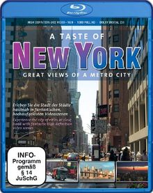 A Taste of New York - Great Views of a Metro City [Blu-ray]