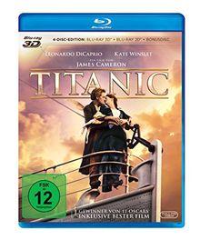 Titanic (2 Blu-ray 3D) (+ Blu-ray 2D) (+ Bonus-Blu-ray)