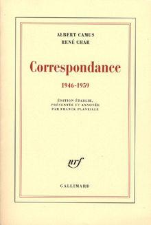 Correspondance : 1946-1959