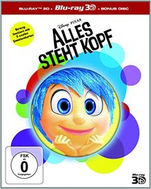 Alles steht Kopf 3D+2D BD - Limited Edition [3D Blu-ray]