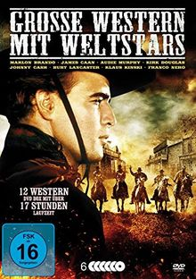 Große Western mit Weltstars [6 DVDs]