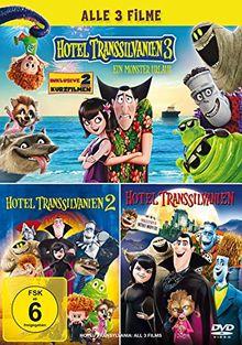 Hotel Transsilvanien - Alle 3 Filme [3 DVDs]