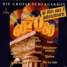 Die Grosse Schlagerbox-50 Hits aus 3 Jahrzehnten
