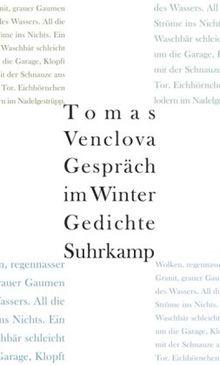 Gespräch im Winter: Gedichte