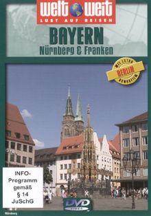 """Bayern: Nürberg & Franken (Reihe: welt weit) mit Bonusfilm """"Berlin""""; Länge: ca. 77 Min."""