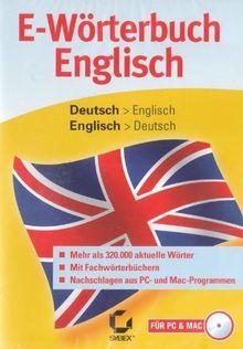 E-Wörterbuch Englisch (PC+MAC)