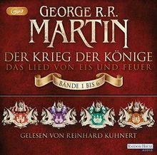 Der Krieg der Könige: Die Box: Das Lied von Eis und Feuer - Bände 1 bis 6